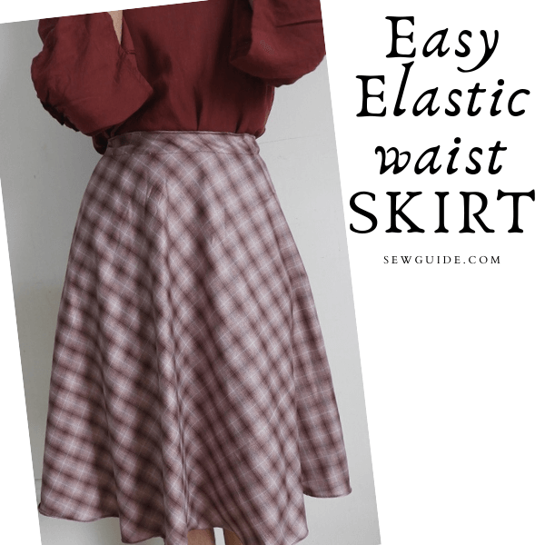 Easy Elastic waist SKIRT