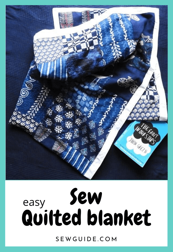 sew easy quilted blanket