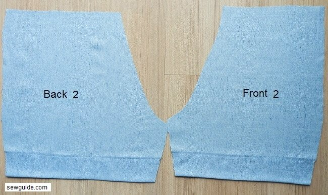 sewing shorts - tutorial and pattern