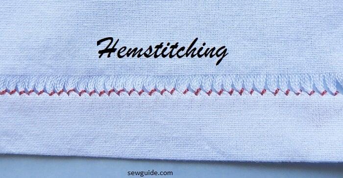 hemstitching