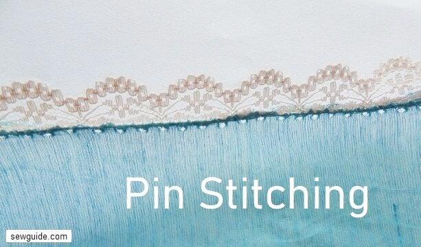pin stitching