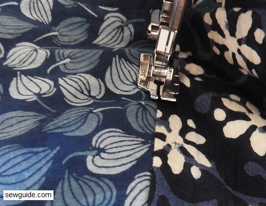 sew quilted blanket