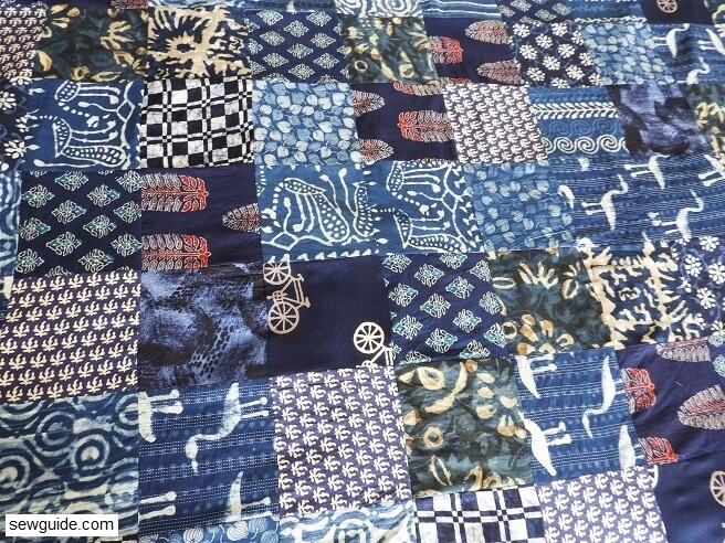How to sew a {Pieced and Quilted} Blanket - Easy sewing tutorial