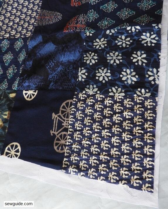 sew quilt blanket