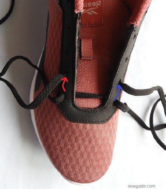 how to tie lace of shoes