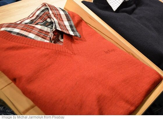different types of sweaters