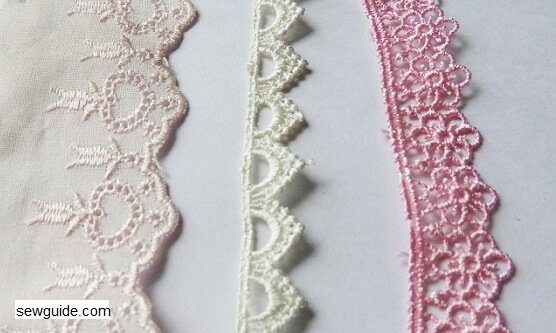 trims used in sewing