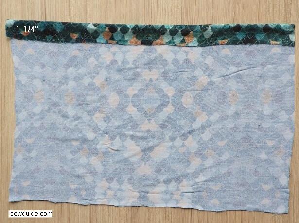 sew a cushion cover
