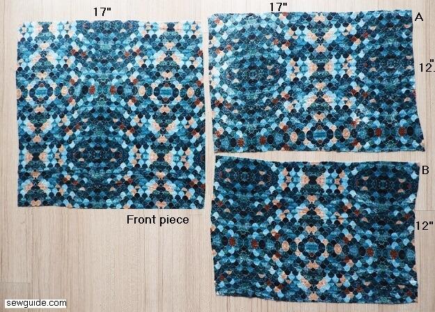 cushion cover making tutorial