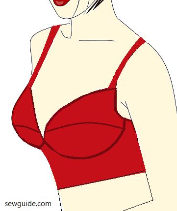 different bras