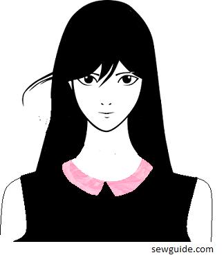 bermuda collar - types of collars