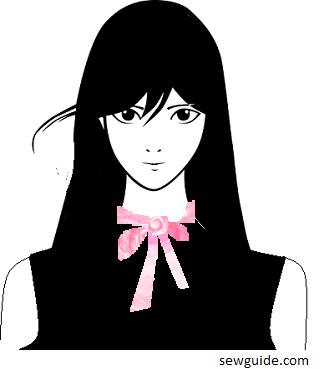 ascot collar style