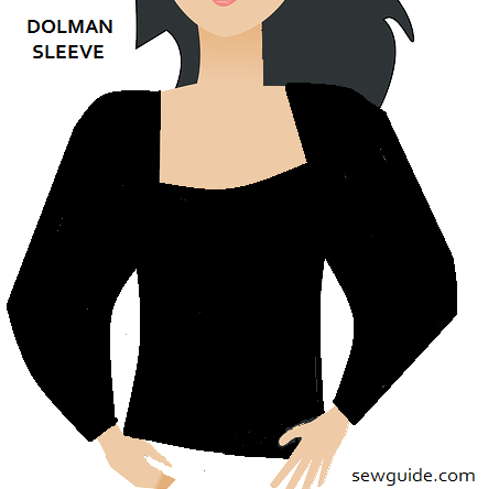 sleeve types - dolman