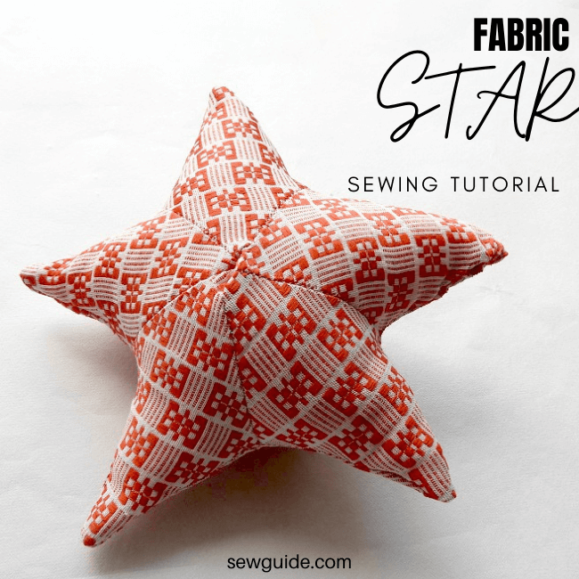 how to sew a star