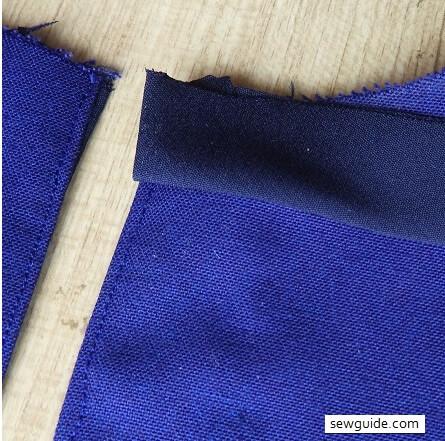 neckline binding