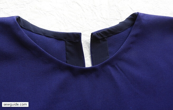 How to bind a neckline with bias tape : 6 methods