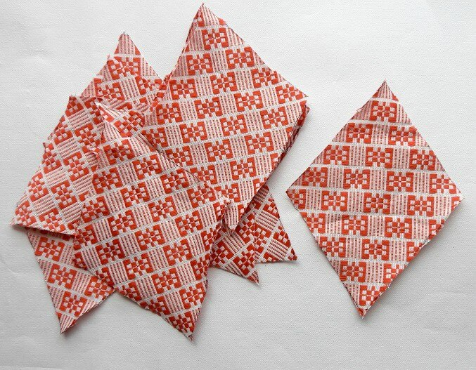 sewing a star from fabric