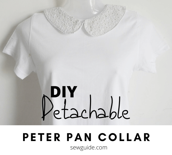 DETACHABLE peterpan collar
