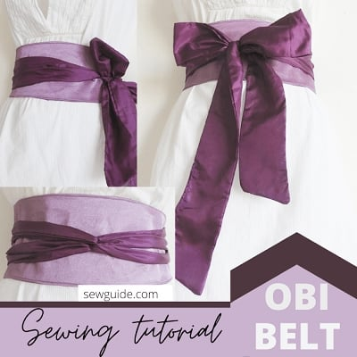 how to make an obi belt