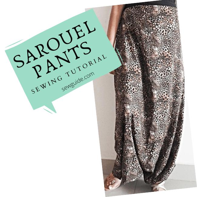 summer sarouel pants