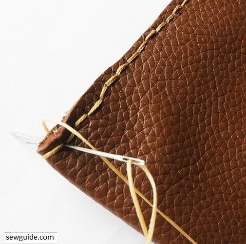 leather pouch sewing