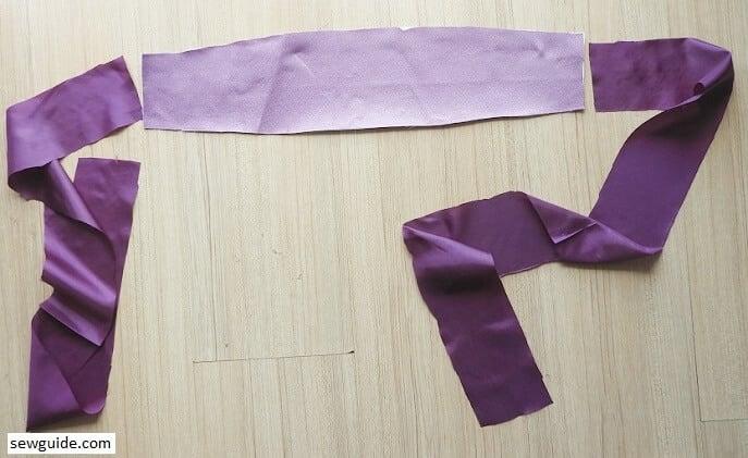 kimono obi belt diy pattern