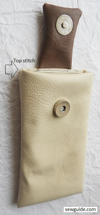 simple Phone Pouch Sewing Tutorials
