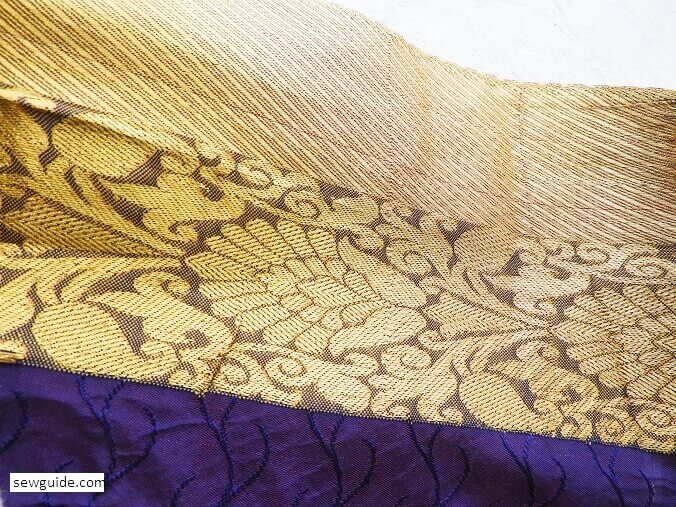 how to care for zari fabric