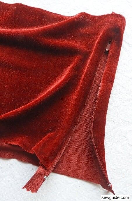 tube top diy sewing tutorial