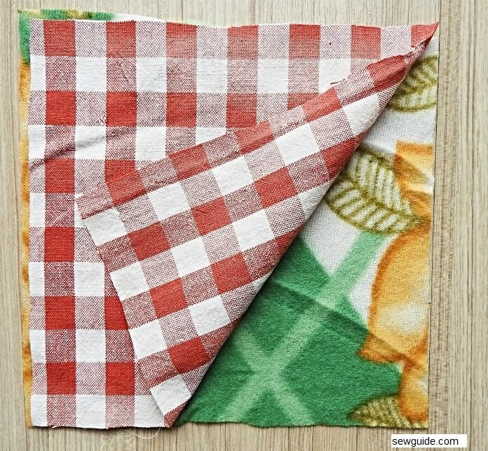 sew rag quilt