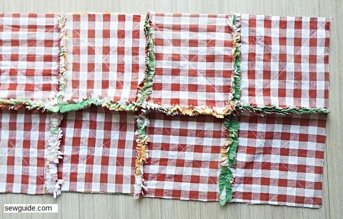 Sew a Rag Quilt : A super easy way to make quilts from old clothes/fabric pieces lying around