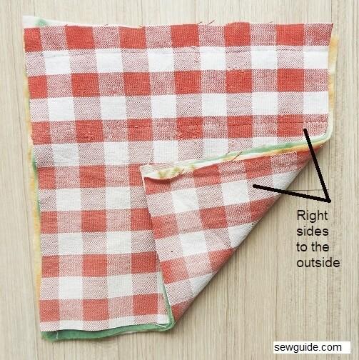 make rag quilt