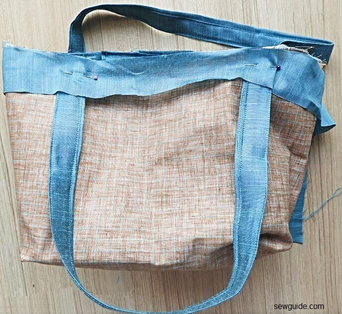 totebag sewing tutorial