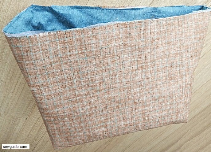 sewing tutorial for zippered tote bag