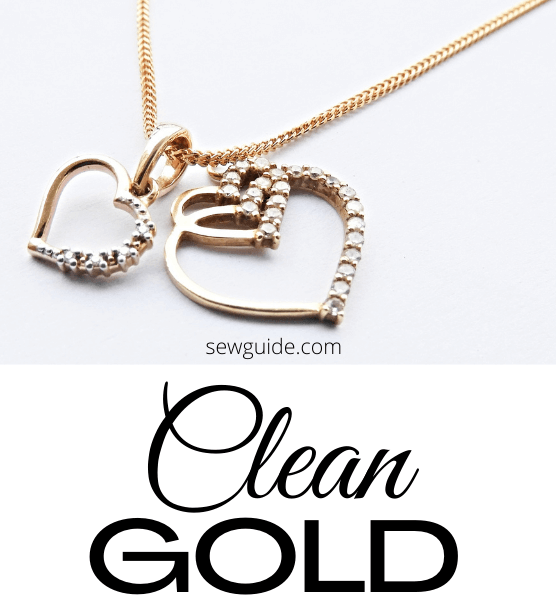 clean gold