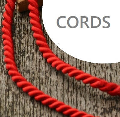 different types of cords for sewing