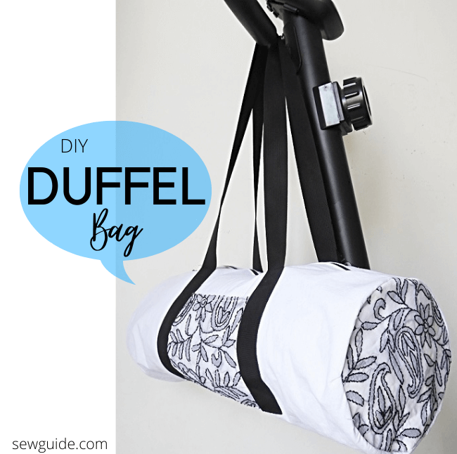 duffel bag sewing tips and tutorial