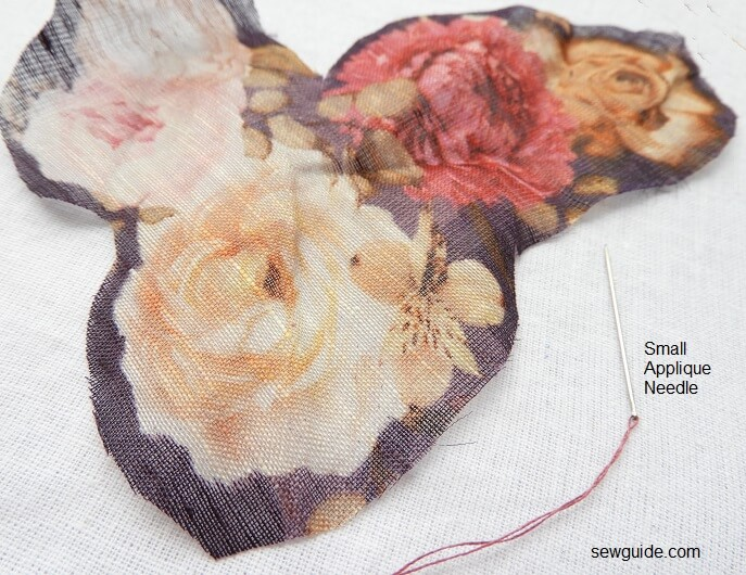 Broderie Perse : The pretty patterned Applique technique