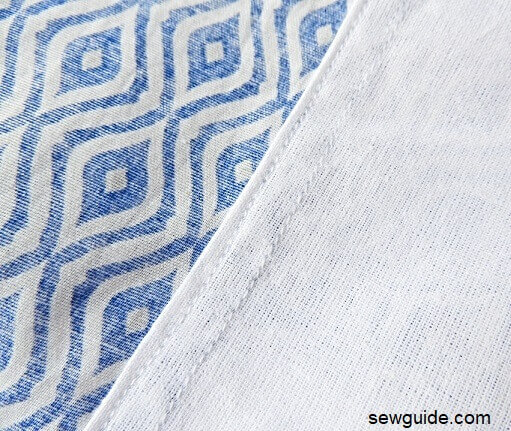 How to sew a Pretty Patterned Bedsheet