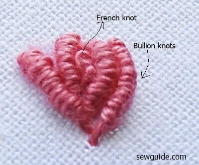 cast on stitch flower