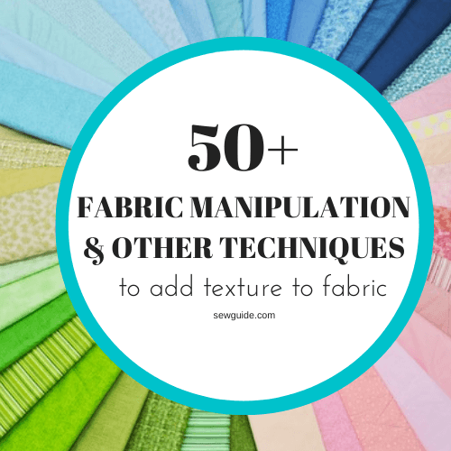 make fabric with texture and pattern