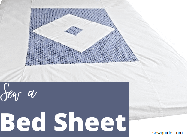 sewing bedsheets