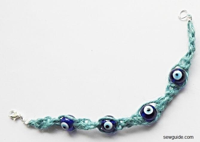 evil eye bead bracelet diy