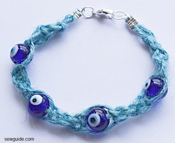 evil eye bead bracelet diy 3 (1)