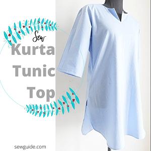 easy kurta tunic top