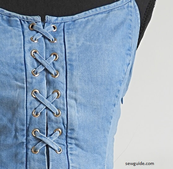 lacing clothes