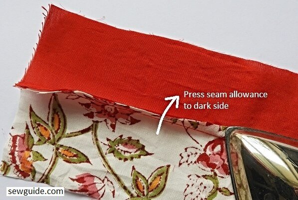 nine patch quilting block sew