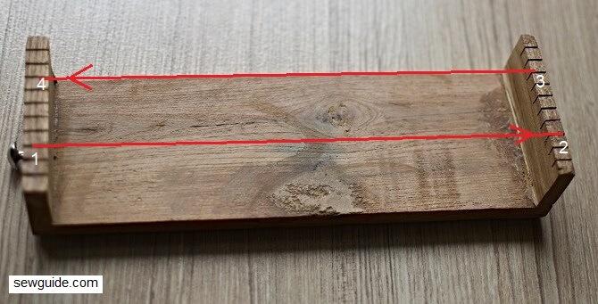 bead weaving loom tape making