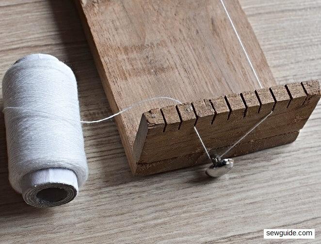 make bead tape with bead weaving loom