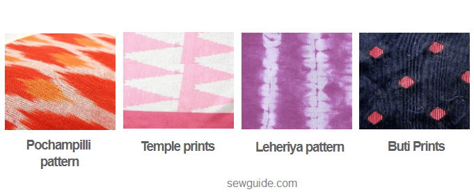 indian fabric pattern names
